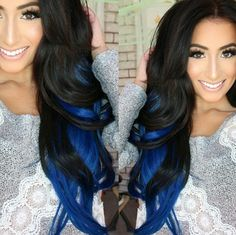 ❤❤ I would love to do this but maybe wait for a bit on the black, i just got my hair back to my natural blonde so .....