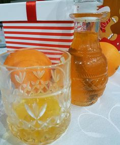 Lichior din coji de portocale si scortisoara Bottle, Drinks, Food, Meal, Flask, Eten, Drink, Meals, Beverage