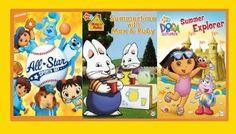 Nickelodeon Style! 3 Nick Jr. DVD Titles