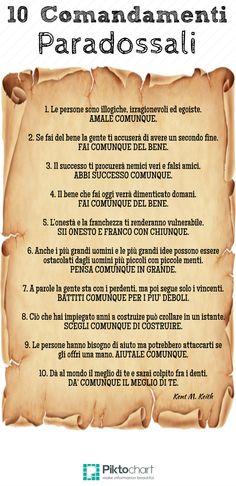 10 Comandamenti Paradossali