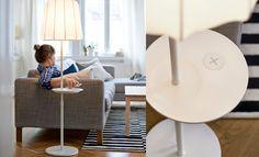 ikea varv design lamp met telefoon oplader