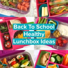 Find healthy lunchbox ideas for kids just in time for Back To School! Families will love all of these recipes for finger foods, simple ideas of fresh veggies and fruit to meal prep and fun ideas for picky eaters. Make lunches for kids simple, yummy and easy. #backtoschool #lunchesforkids #healthylunches #pickyeaters #videos #bentobox #easyrecipes #lunchrecipes #lunchideas