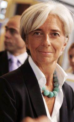 Christine Lagarde - Mature Hairstyles