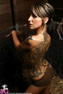 People with tattoos aren't deliquents or people society should snub their noses at. They are still people who have feelings, a heart, morals, goals, and achievements. They are good people who happen to be walking art.