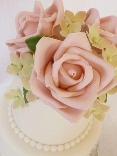 Rose cake closeup | Flickr - Photo Sharing!