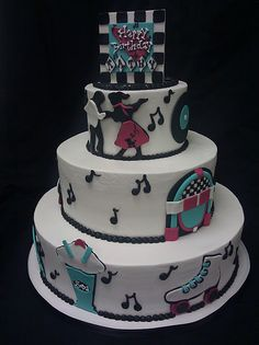 Cake Decorations Montgomery Al : 1000+ images about 50 s theme on Pinterest Sock hop, 50s ...