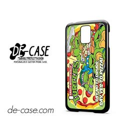 Tmnt Ninja Turtle Say Yes To Pizza DEAL-11282 Samsung Phonecase Cover For Samsung Galaxy S5 / S5 Mini