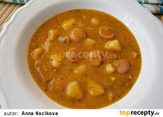 Czech Recipes, Ethnic Recipes, Cheeseburger Chowder, Easy Meals, Soup, Soups, Easy Dinners, Simple Meals, Chowder