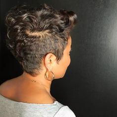 "1,575 Likes, 17 Comments - ⠀⠀⠀⠀⠀⠀⠀⠀K H I M A N D I (@khimandi) on Instagram: ""Nothing like a soft neckline  ✨ | P I X I E  L O V E | ✨ : : #khimandi #hair #thecutlife…"""