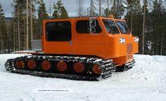 Thiokol Spryte Snowcat