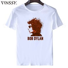 Singer Bob Dylan t shirt 3d Printing t shirt 2017 new fashion Dylan T-Shirt Tees Top For Casual men plus size men shirt XXXL #Affiliate
