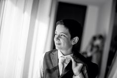 Handsome junior groomsman! Photography by Mott Visuals