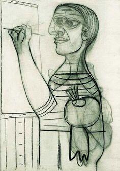 AUTORITRATTO A 57 ANNI, SURREALISMO Picasso