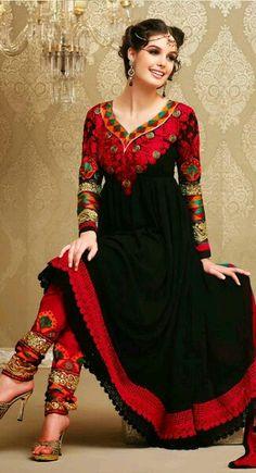 Black n red ...