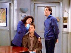 (The Checks) - JERRY: Brett, I'm really sorry. I didn't mean to hit you in the head with an axe.    At least it was just the handle!  BRETT: It was a beautiful cabinet. What am I gonna tell...I can't remember his name! JERRY: Fleckman?  ELAINE: Calm down Brett. You could have a concussion. [starts singing] 'Desperado, mmm-mm-mmm. You better...' ELAINE/JERRY: [singing] '...let somebody love you. Let somebody love you, before it's too...'  [Brett passes out]
