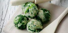 kluski, zielone kluski,