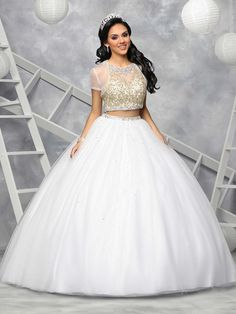 Custom quinceanera dresses in bright colors! These quince dresses can be made in any color. Lots of vestidos de quinceanera to choose from. Sweet 16 Dresses, 15 Dresses, Fashion Dresses, Wedding Dresses, Quinceanera Collection, Bridal Lehenga Collection, Cheap Quinceanera Dresses, Quinceanera Party, Two Piece Gown