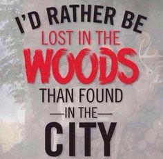 Definitely not a city slicker