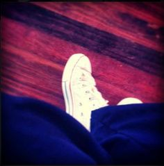 my shoes my feet my life -_- :D