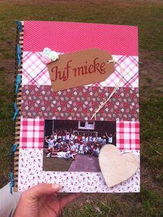 Afscheidscadeau juf Mieke