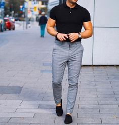 Smart Casual Party Outfit, Formal Men Outfit, Mens Fashion Wear, Best Mens Fashion, Men's Fashion, Smart Casual Menswear, Men Casual, Best Casual Shirts, Moda Formal