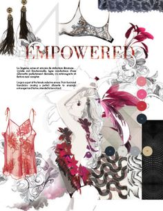 FASHION VIGNETTE: TRENDS // INTERFILIERE - INTIMATES AND BEACHWEAR . FALL/WINTER 2016-17