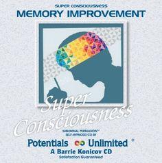 Memory Improvement Subliminal Persuasion/Self-Hypnosis $22.98 memory-improvement-books personal-development
