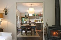 Bowral - Eclectic - Dining Room - Adelaide - Luci.D Interiors love the blue table
