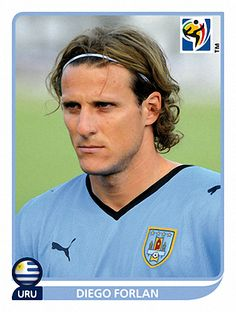 85 Diego Forlan - Uruguay - FIFA World Cup South Africa 2010