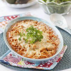 Vitkålsgratäng med kyckling Swedish Recipes, New Recipes, Snack Recipes, Cooking Recipes, Favorite Recipes, Healthy Recipes, Lchf, Good Food, Yummy Food