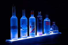 Home Bar Lighting  2' LED Lighted Liquor by ArmanaProductions