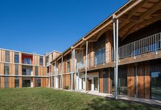 nomade architectes delivers sustainable housing for the elderly in france - designboom | architecture & design magazine