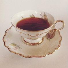 a cup of tea, my dear?