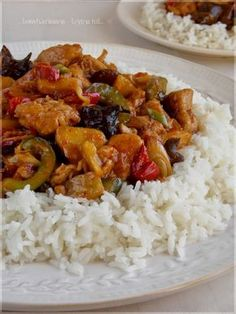 Naan, Wok, Curry, Food And Drink, Cooking Recipes, Rice, Pizza, Ethnic Recipes, Cook Books