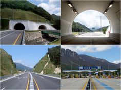 #Misiryeong Tunnel, #Gangwon Province, Korea   미시령터널