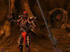 Morrowind. Dremora, peligroso ser de los Planos de Oblivion.