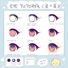 Eye tutorial  !!|Antay6009|MediBang