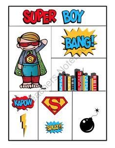 "Free ""I Want to Be A Superhero!"" ~ Preschool Printables"