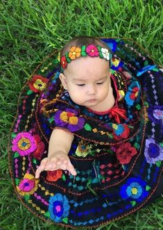 Mexican Chiapaneca Dress for Girls Black – Cielito Lindo Mexican Outfit, Mexican Dresses, Mexican Baby Dress, Teenage Girl Outfits, Toddler Outfits, Black Mexican Babies, Little Girl Dresses, Girls Dresses, Quinceanera Decorations