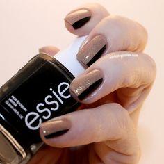 Black and Tan: Essie Licorice