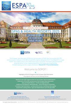ALL ROADS LEAD TO SOPOT (POLAND) #ESPASopot2015 http://www.europeanspas.eu/events/ESPACongress2015 #ESPAInnovationAwards2015 http://www.europeanspas.eu/events/ESPA_InnovationAwards_2015