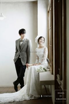 The new sample of Korea pre-wedding photographs presented by S Studio. Pre Wedding Poses, Wedding Couple Poses, Pre Wedding Photoshoot, Wedding Pics, Wedding Shoot, Wedding Couples, Wedding Bride, Wedding Venues, Documentary Wedding Photography