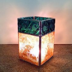 Shop Stained Glass Candle Holders on Wanelo