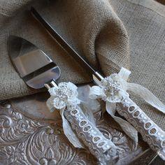 Cake Knife Sets For Weddings Server Set Slicer And