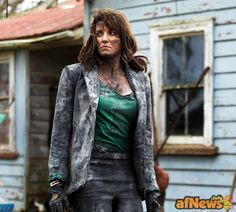 First Look At Lucy Lawless As 'Ruby' In ASH VS. EVIL DEAD - http://www.afnews.info/wordpress/2015/08/01/first-look-at-lucy-lawless-as-ruby-in-ash-vs-evil-dead/