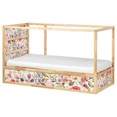Cama Ikea Kura, Ikea Bunk Bed Hack, Ikea Kura Hack, Bed Ikea, Ikea Hacks, Ikea Nursery, Nursery Wall Decals, Bed Price, Types Of Beds