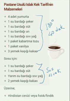 Cocoa Wet Cake Recipe- Kakaolu ıslak kek tarifi Cocoa Wet Cake Recipe - – Yemek Tarifleri – Resimli ve Videolu Yemek Tarifleri Pasta Cake, Cake Photography, New Cake, Blueberry Cake, Food Places, Turkish Recipes, Recipe For 4, Cupcakes, Clean Eating Snacks