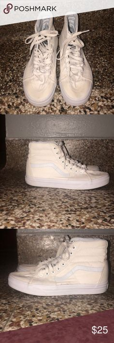 6f0033f0f8 Hightop vans size 6.5 men s   size 8.5 women s Hightop vans worn a few  times.