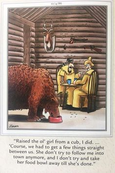 Far Side Cartoons, Far Side Comics, Funny Cartoons, Gary Larson Far Side, Gary Larson Cartoons, The Far Side, Good Humor, Reaction Pictures, Wild West