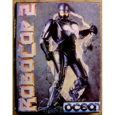 Robocop 2 for Atari ST from Ocean Robocop 2, Gaming Computer, Cover, Retro Vintage, Video Games, Batman, Ocean, Superhero, Fictional Characters
